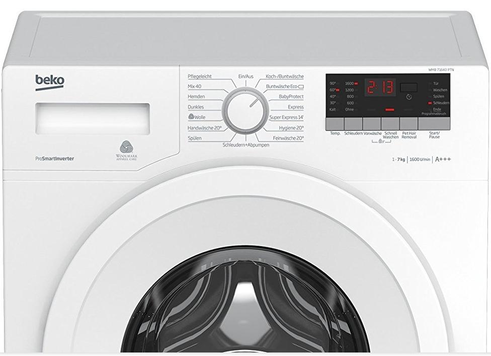 Waschmaschine mit Tierhaar-Entfernungsfunktion