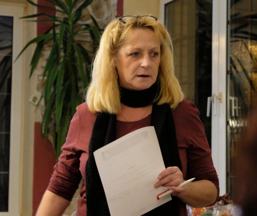 Die Vereinsvorsitzende von SAMT e.V.: Irene Launer-Hill