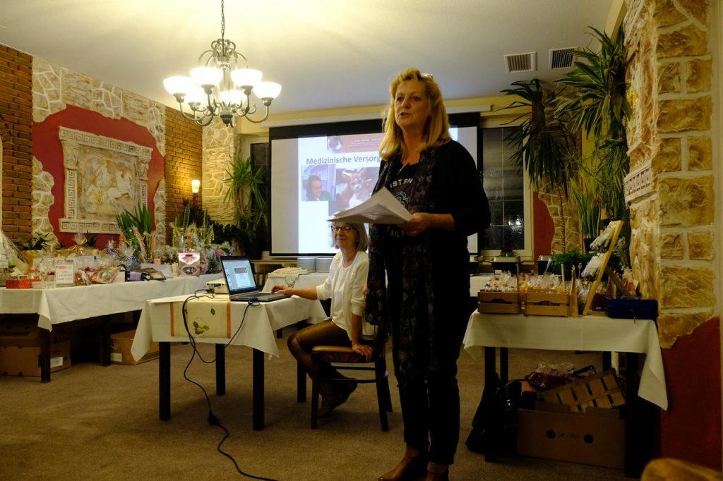 Vereinsvorsitzende Irene Launer-Hill