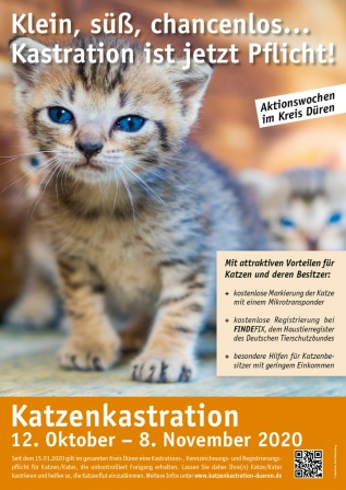 Poster Kastrationsaktion